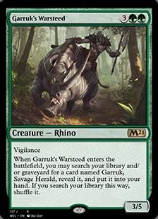 Garruk's Warsteed