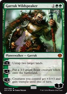 Garruk Wildspeaker [DD3_GVL] (F)