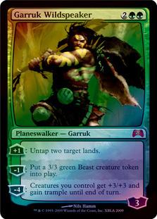 Garruk Wildspeaker [PRM-MED] (F)