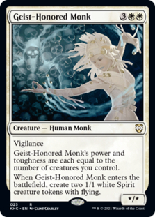 Geist-Honored Monk [KHC]
