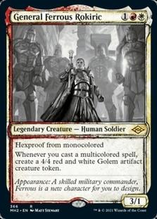 General Ferrous Rokiric <showcase> [MH2]