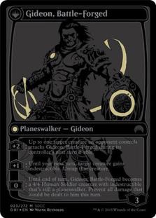 Gideon, Battle-Forged [PRM-SDCC15] (F)