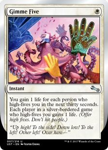 Gimme Five [UST]