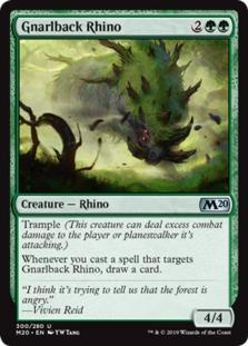 Gnarlback Rhino