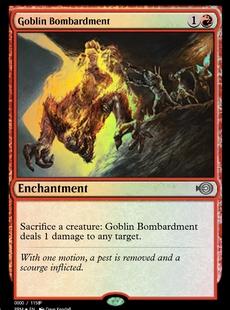 Goblin Bombardment <Alt. 1> [PRM]