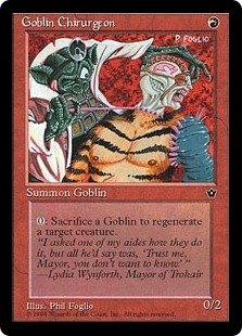 Goblin Chirurgeon <Foglio> [FEM]