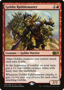 Goblin Rabblemaster [PRM-BAB] (F)