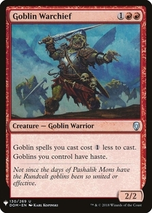 Goblin Warchief