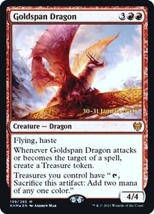 Goldspan Dragon <prerelease> [KHM] (F)