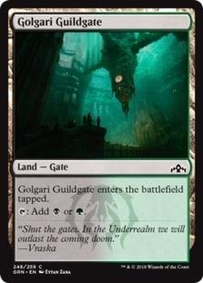 Golgari Guildgate <248> [GRN]