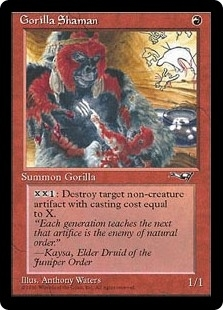 Gorilla Shaman <B> [ALL]