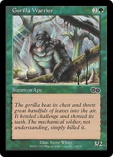 Gorilla Warrior [UZ]