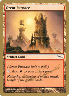 Great Furnace <Aeo Paquette> [WC04]
