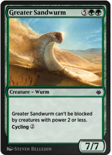 Greater Sandwurm
