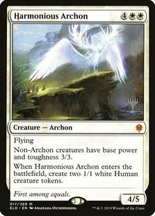 Harmonious Archon <planeswalker stamp> [ELD]
