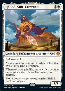 Heliod, Sun-Crowned <planeswalker stamp> [PTHB]