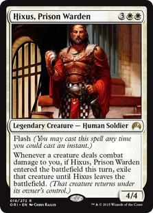 Hixus, Prison Warden
