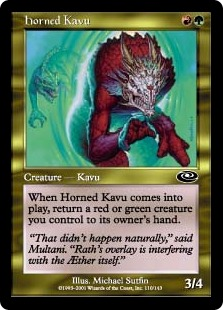 Horned Kavu [PS]