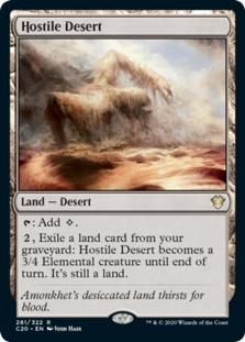 Hostile Desert