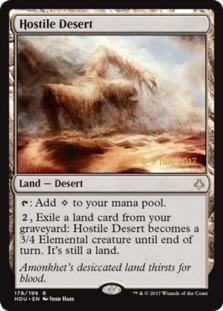 Hostile Desert [PRM-PRE] (F)