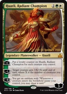 Huatli, Radiant Champion [PRM-PRE] (F)