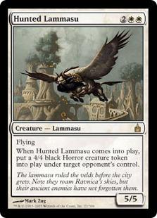 Hunted Lammasu