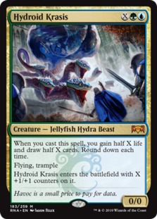 Hydroid Krasis Ravnica Allegiance Rna Price History Speaking of x, let's get to the tricky part: hydroid krasis ravnica allegiance rna