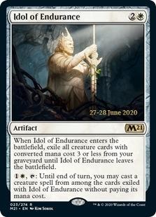 Idol of Endurance <prerelease> [M21] (F)