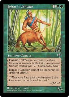 Jolrael's Centaur