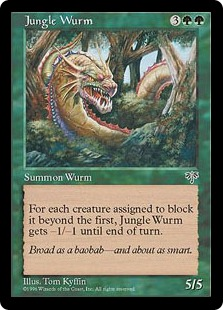 Jungle Wurm