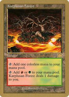 Karplusan Forest <Janosch Kuhn> [WC00]