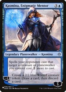 Kasmina, Enigmatic Mentor [PLIST]