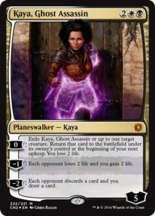 Kaya, Ghost Assassin <Alternate Art Foil> [CN2] (F)