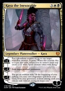 Kaya the Inexorable <planeswalker stamp> [KHM]