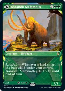 Kazandu Mammoth <showcase> [ZNR]