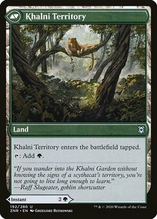 Khalni Territory