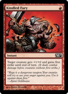 Kindled Fury [M10] (F)