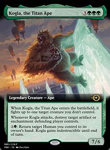 Kogla, the Titan Ape [PRM]