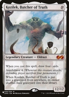Kozilek, Butcher of Truth [PLIST]