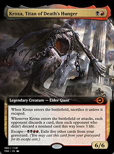 Kroxa, Titan of Death's Hunger [PRM] (F)
