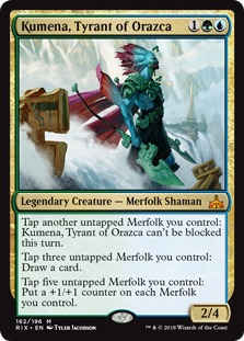 Commander Spotlight: Kumena, Tyrant of Orazca