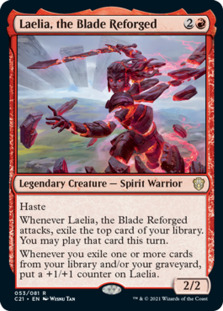 Laelia, the Blade Reforged
