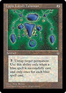 Lapis Lazuli Talisman [ICE]