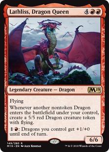 Lathliss Dragon Queen, Core Set 2019 (M19) Price History