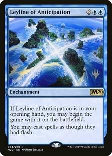 Leyline of Anticipation <planeswalker stamp> [M20]