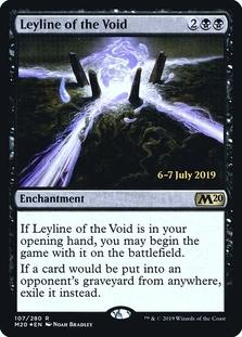 Leyline of the Void <prerelease> [M20] (F)