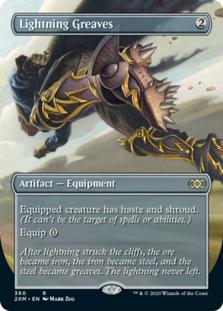 Lightning Greaves <borderless> [2XM] (F)