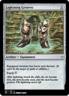 Lightning Greaves [PZ1] (F)