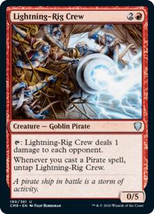 Lightning-Rig Crew