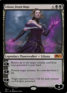 Liliana, Death Mage <planeswalker deck> [M21] (F)